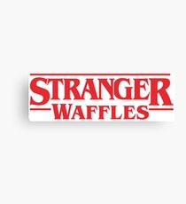 Stranger Things Season 2 Waffles Canvas Print