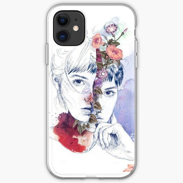 CELLULAR DIVISION by elena garnu iPhone Soft Case