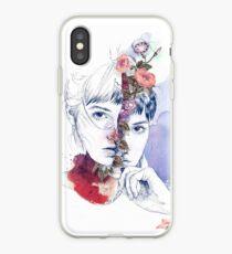 CELLULAR DIVISION by elena garnu iPhone Case