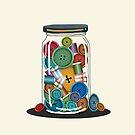 Sewing Jar by Karin Taylor