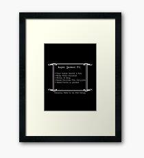 Lupin Savant, P.I. Framed Print
