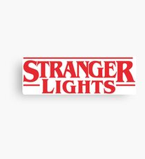 Stranger Things Season 2 Lights Canvas Print