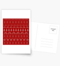 Christmas Cycling Jumper | Red Postcards