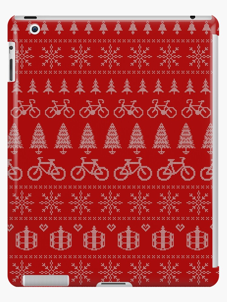 Christmas Cycling Jumper | Red by katecrashed