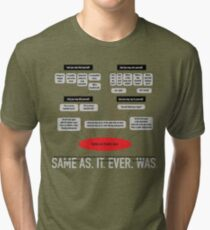 Same As It Ever Was Tri-blend T-Shirt