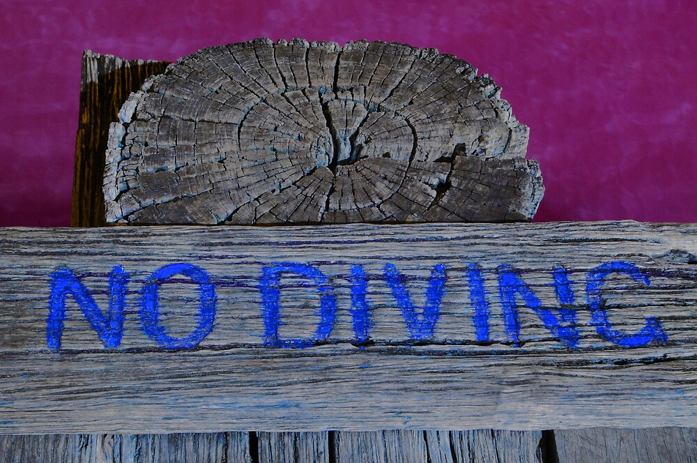 No Diving by Melle