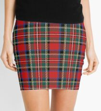 tartan stuart outlander Mini Skirt
