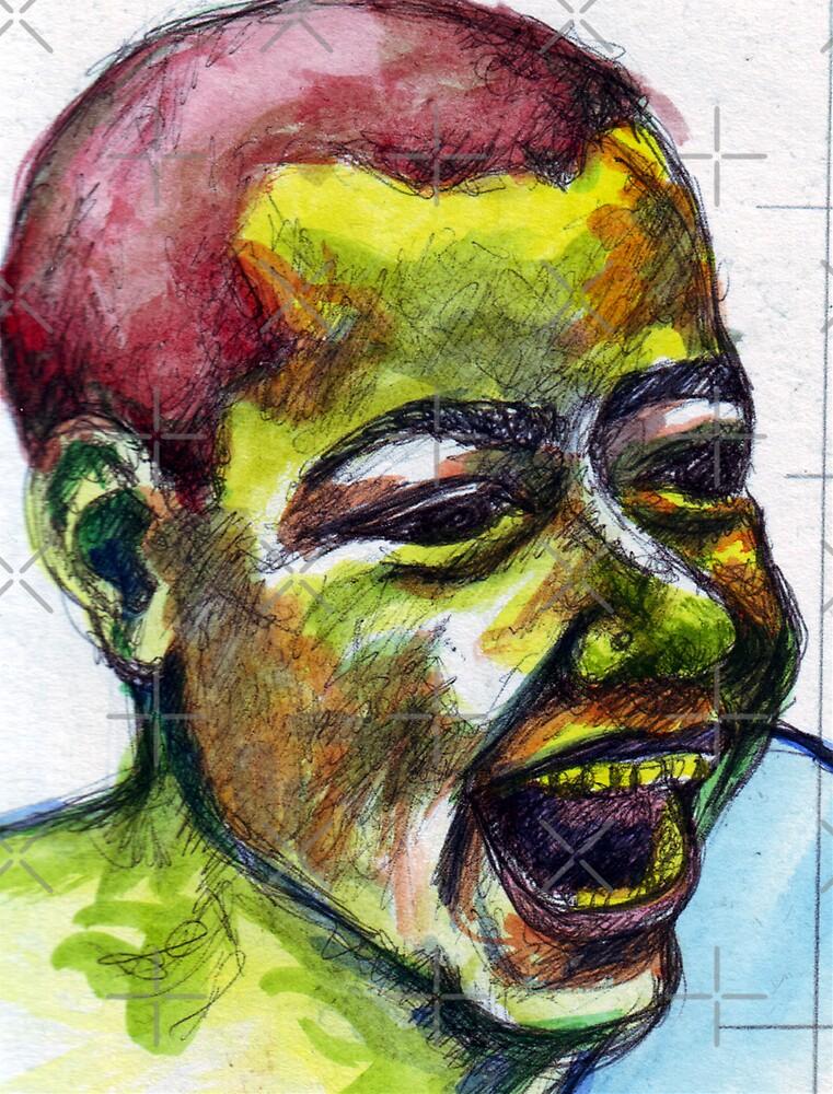 Big Smile Sketch by DreddArt