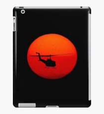 Vietnam Helicopter Sunset iPad Case/Skin