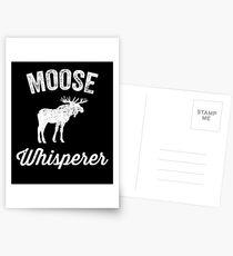 Moose whisperer - moose lover Postcards