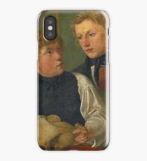 SPECKTER, ERWIN   1806 - 1835  ,  Double Portrait of the Young Painter Carl Julius Milde (1803-1875) and Friedrich Nerly (1807-1878). Before 1823 iPhone Case/Skin