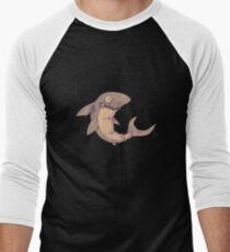 Sharky the Friendly Shark Men's Baseball ¾ T-Shirt