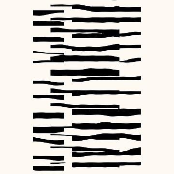 Organic No.13 Black & White by MenegaSabidussi