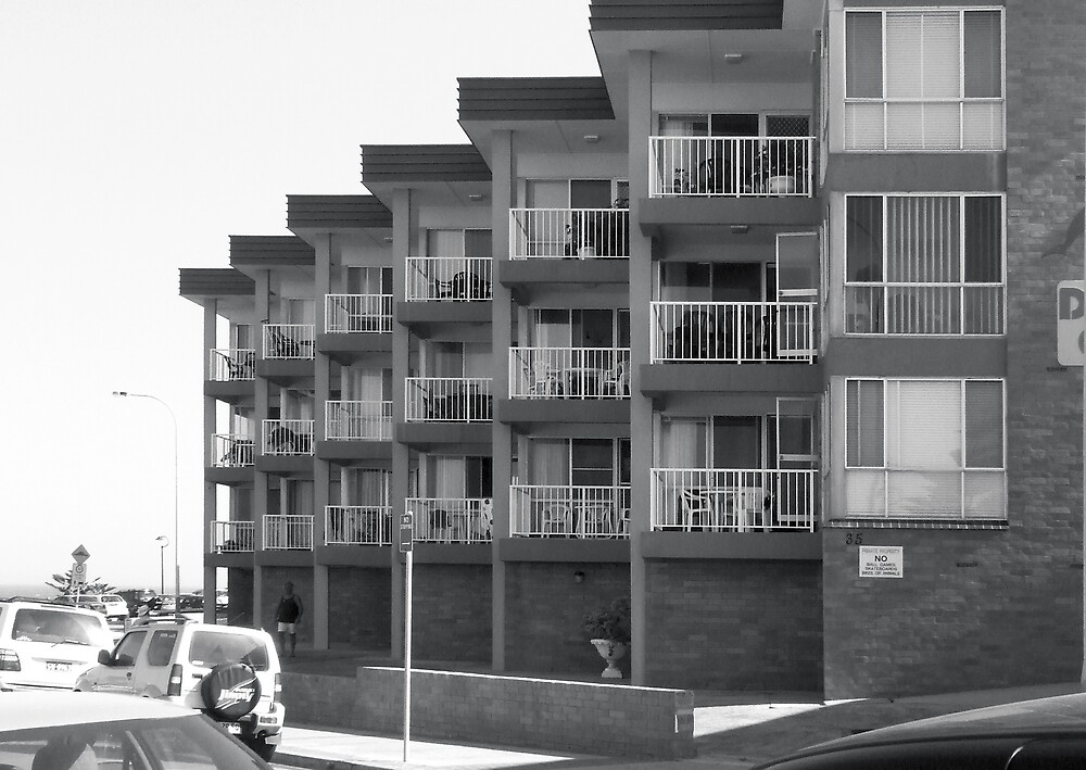 apartment block by the sea by adam pearson