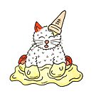 The Cat Who Got The Ice Cream by Shelly Still