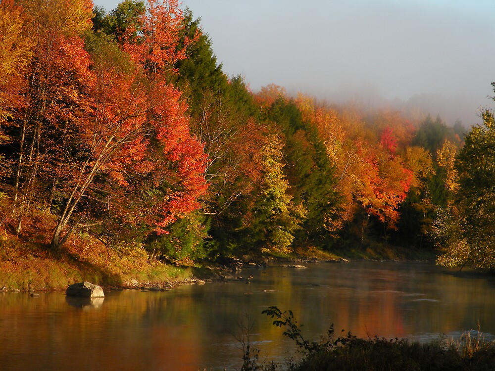 Autumn in Vermont by Jean Snide