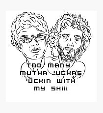 Flight of the Conchords Mutha 2 Photographic Print