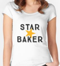 Star Baker—Great British Bake Off Women's Fitted Scoop T-Shirt