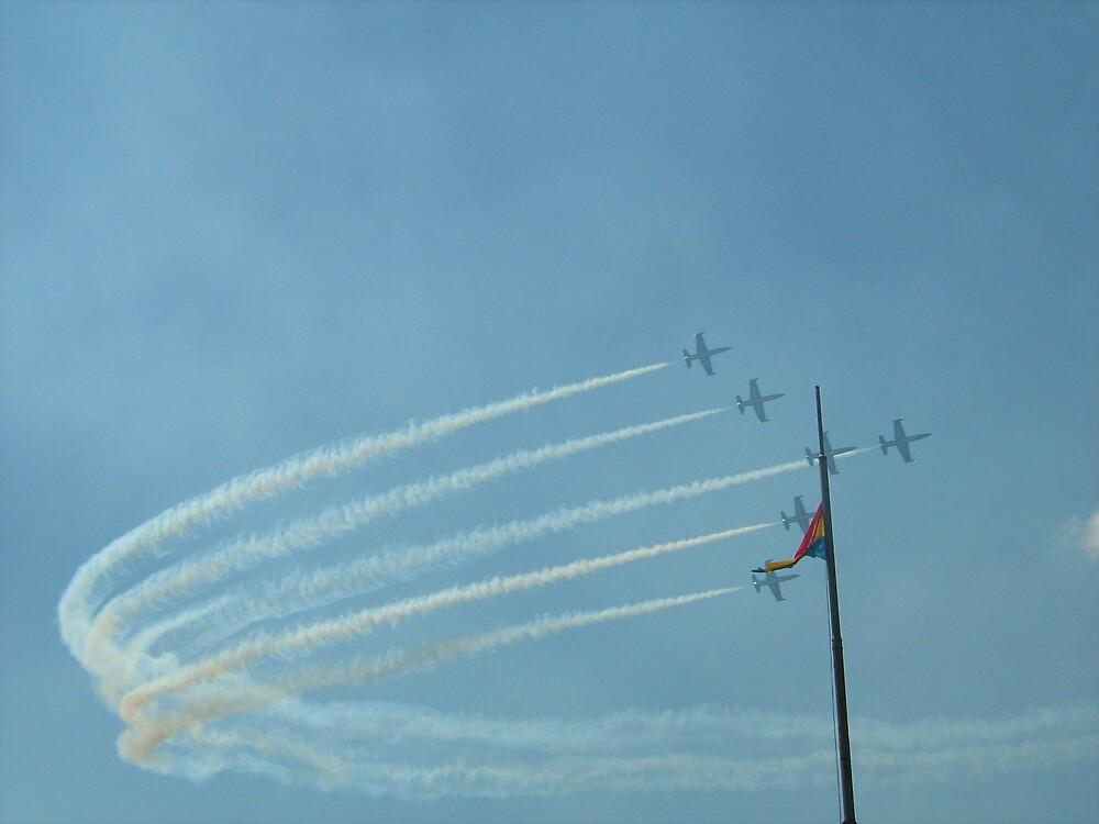 budapest air race by gabriella hansen