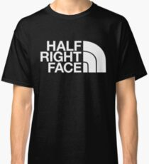 Half Right Face Classic T-Shirt