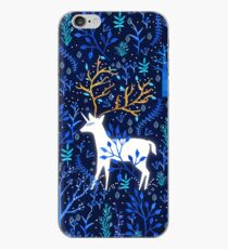Deericorn In Blue iPhone Case