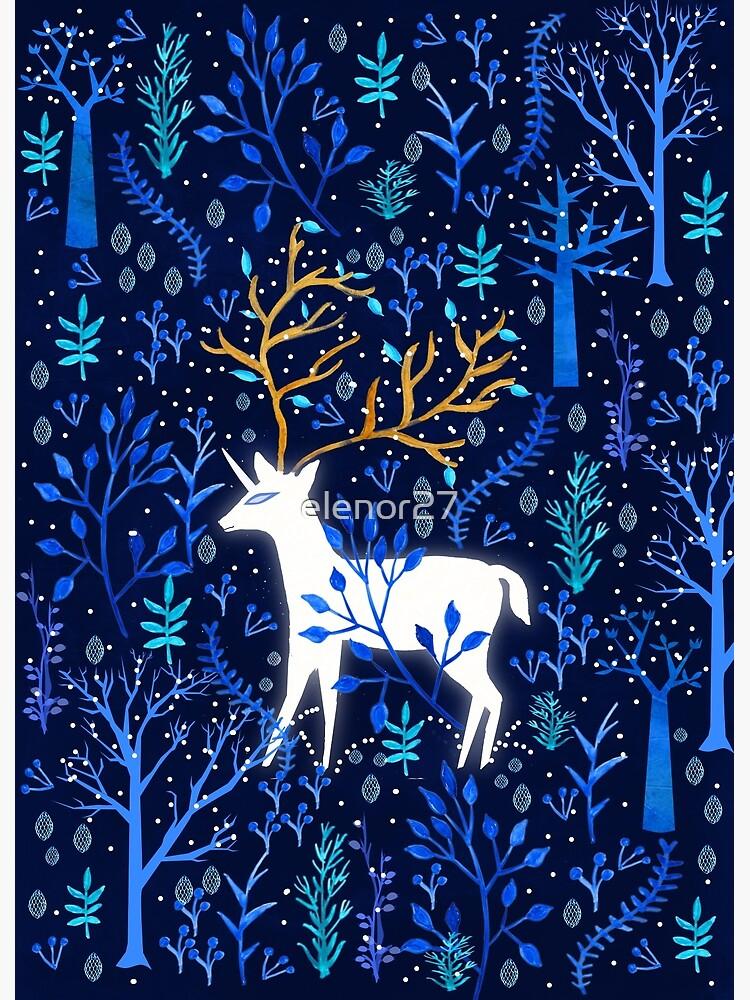 Deericorn en azul de elenor27
