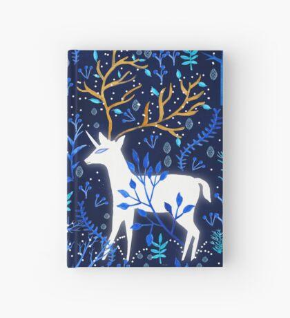 Deericorn In Blue Hardcover Journal