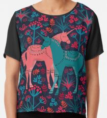 Unicorn Land Chiffon Top