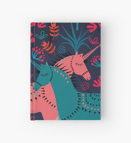 Unicorn Land Hardcover Journal