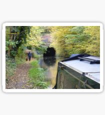 Braunston tunnel on the Grand Union canal Sticker