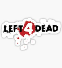 Left 4 Dead T-Shirt Sticker