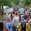 Historic boat rally at Braunston, June 2016 by CruisingTheCut