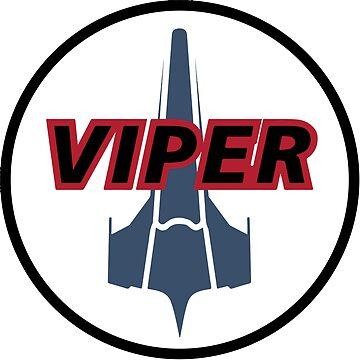 Battlestar Galactica - Viper Mark II  by Daljo