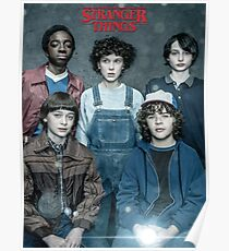 Stranger Things - Squad Poster