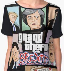 GTA: Brexit Chiffon Top