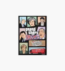 GTA: Brexit Art Board Print