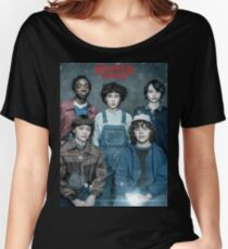 Stranger Things - Squad Women's Relaxed Fit T-Shirt