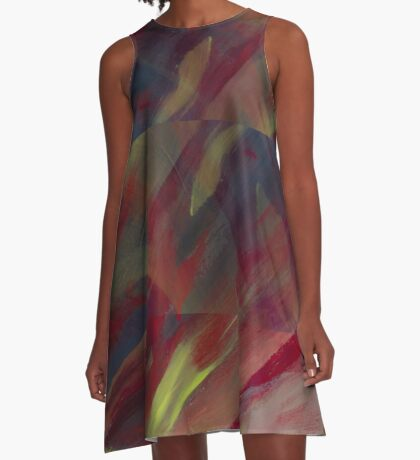 Fall is Fading A-Line Dress