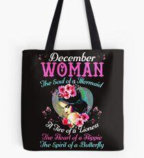 DECEMBER WOMAN THE SOUL OF MERMAID Tote Bag