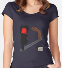 Always RED 3 Women's Fitted Scoop T-Shirt