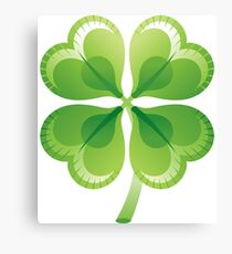 Shamrock - St Patricks Day Canvas Print