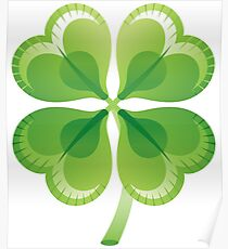 Shamrock - St Patricks Day Poster