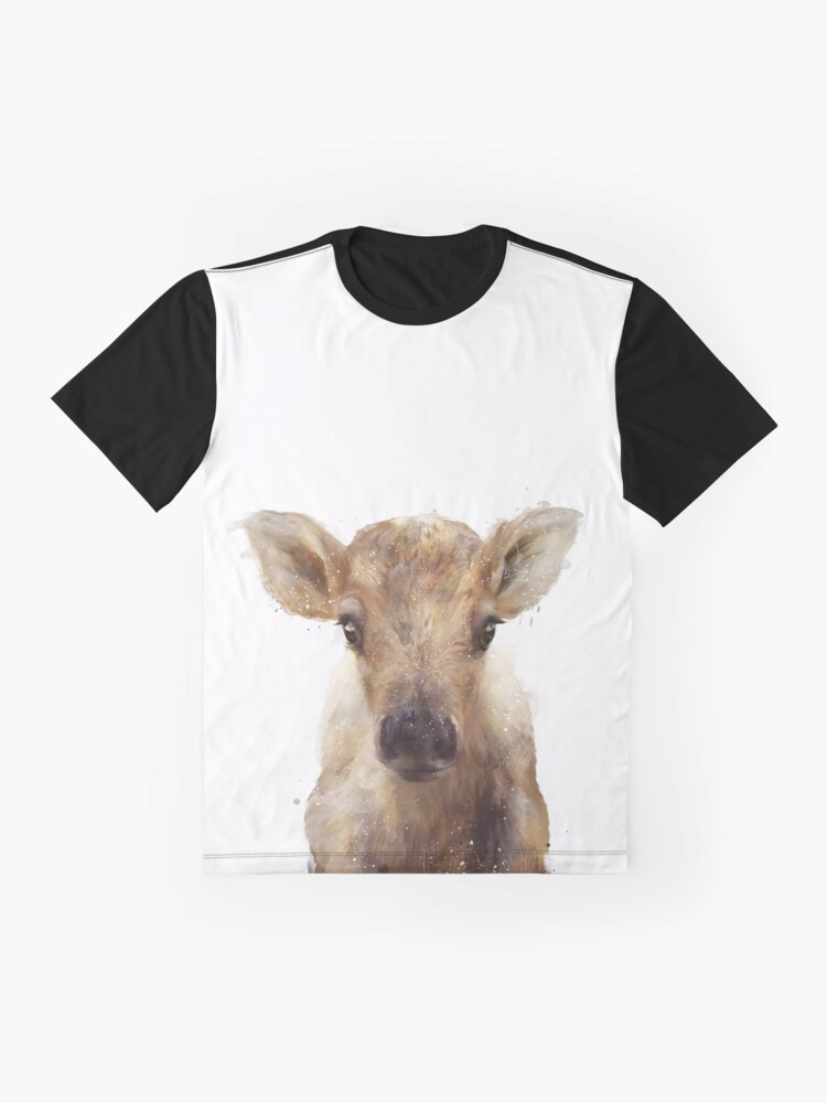 Alternate view of Little Reindeer Graphic T-Shirt