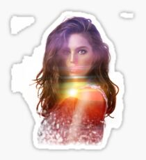 The sunset goddess - Emily DiDonato Sticker