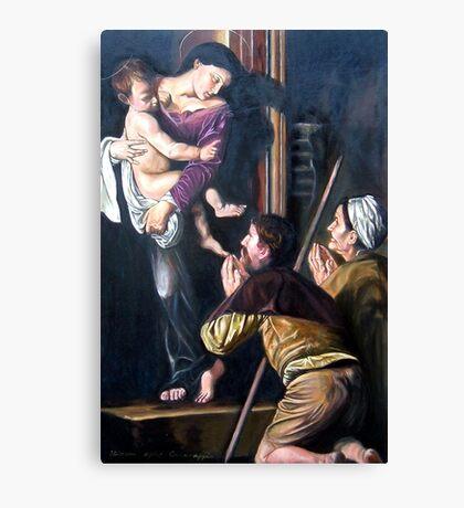 Madonna di Loreto after Caravaggio Canvas Print