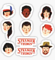 Stranger Things - Sticker Pack 1 Sticker