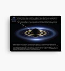 Pale Blue Dot Canvas Print