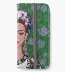 Frida cat lover - closer iPhone Wallet/Case/Skin