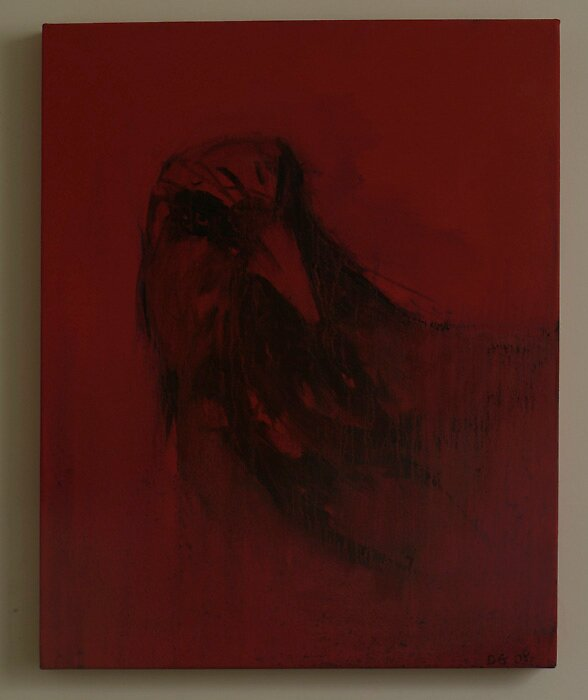 red crow #3 by davey