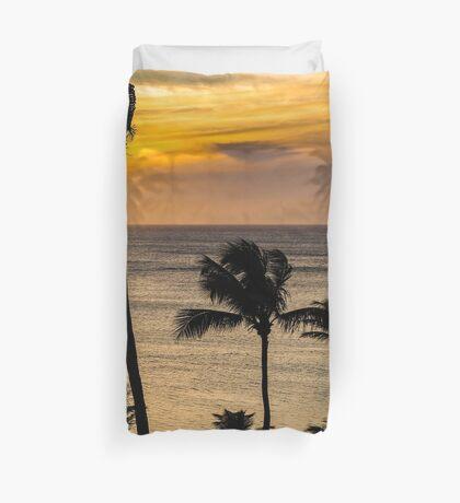 Aruba Sunset 2 Duvet Cover